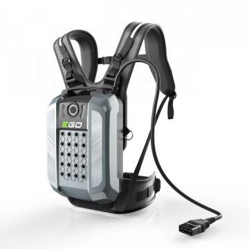 EGO rugaccu BAX1501 28 Ah IP 56 incl. harnas en adapter